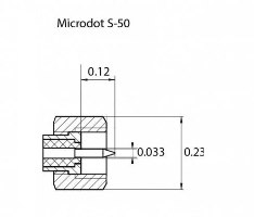 Разъем Microdot