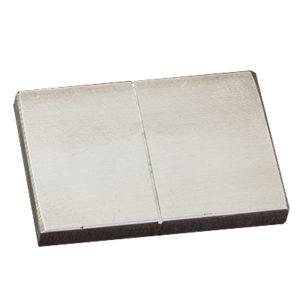 Алюминиевый образец Magnaflux для сравнения пенетрантов