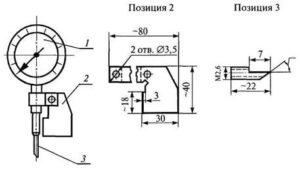 Приспособление для измерения глубины подрезов