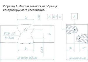 Образец 1 по СТО-ГК Трансстрой 012-2007